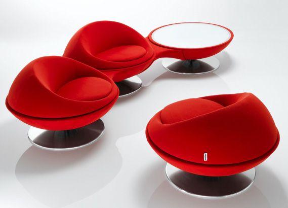 sofás rojos modernos: Ultramodern, Modern Chairs, Ultra Modern, Kitchens Ideas, Chair Design, Armchairs Design, Modern Furniture Design, Modern Armchairs, Modern Offices