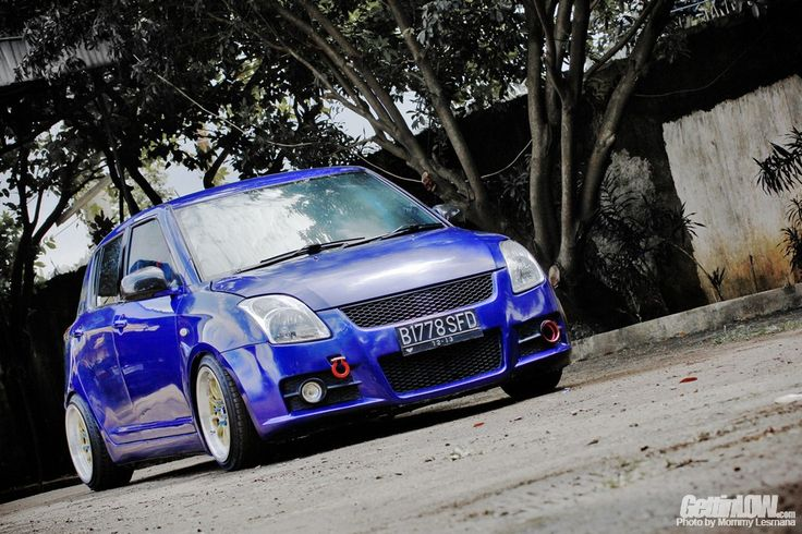 Modifikasi Suzuki Swift GT Turbo Dendy