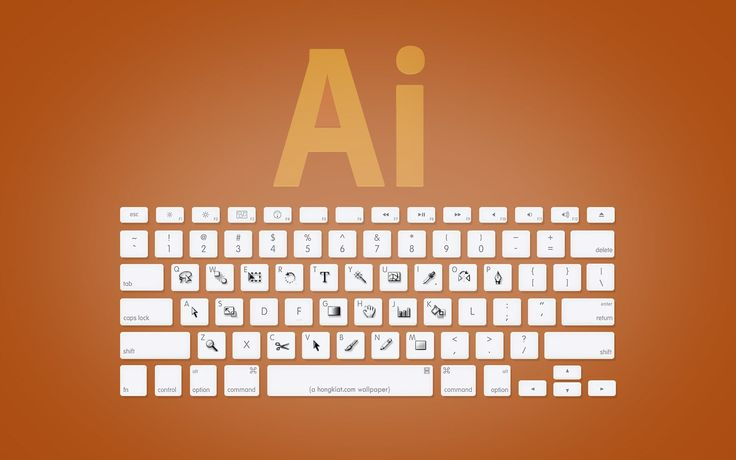Adobe Illustrator keyboard