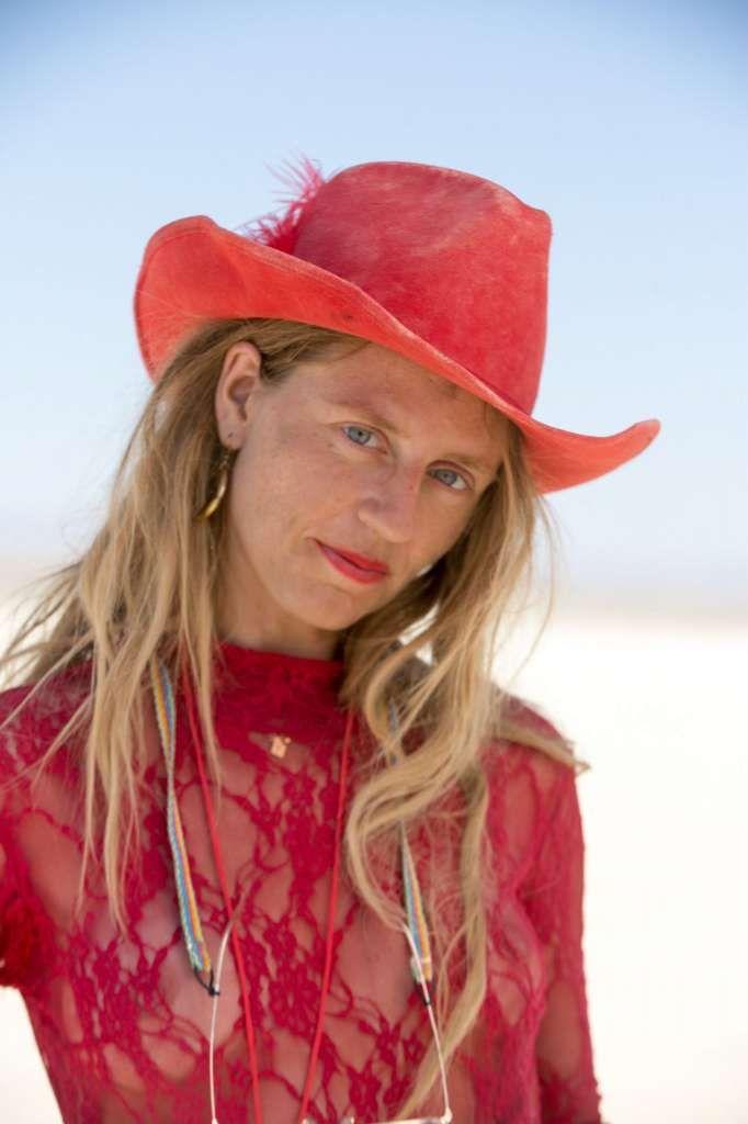 LA-based Fashion Designer Stephanie Satori At Burning Man