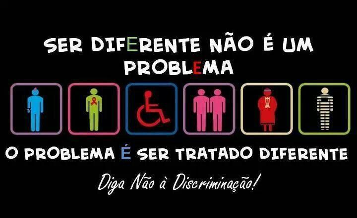 Ser diferente é normal!!!