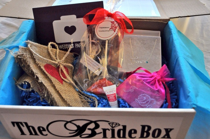 Wedding Gift Box Subscription : ... by The Bride Box on The Bride Box Monthly Wedding Gifts Pintere