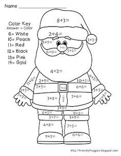 25+ best ideas about Christmas math worksheets on Pinterest ...