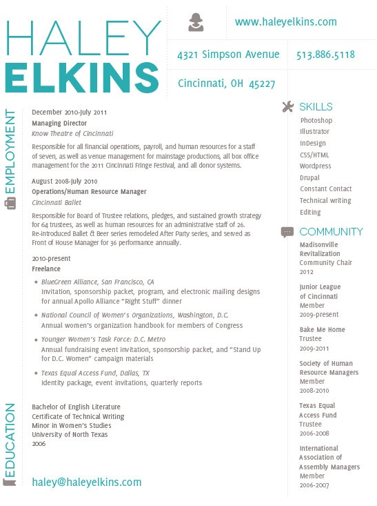 28 Best Modern Cv Samples Images On Pinterest | Resume Ideas, Cv