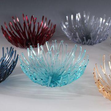 Glass Chrysanthemums