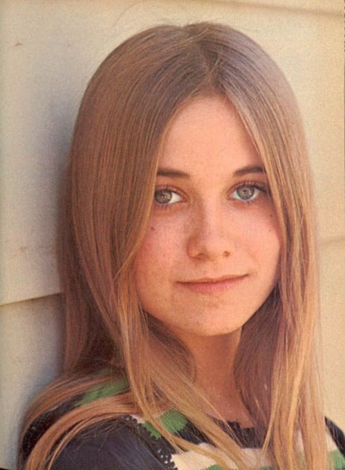Maureen McCormick - Marcia Brady --My style icon in the early 70's. I think I wore every hair style that she did.