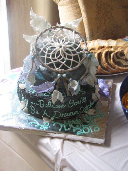 dreamcatcher+cake   Dream Catcher Graduation Cake - Cake Decorating Community - Cakes We ...