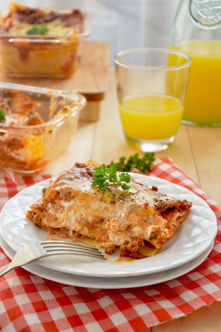 Lasagna Triple Cheese