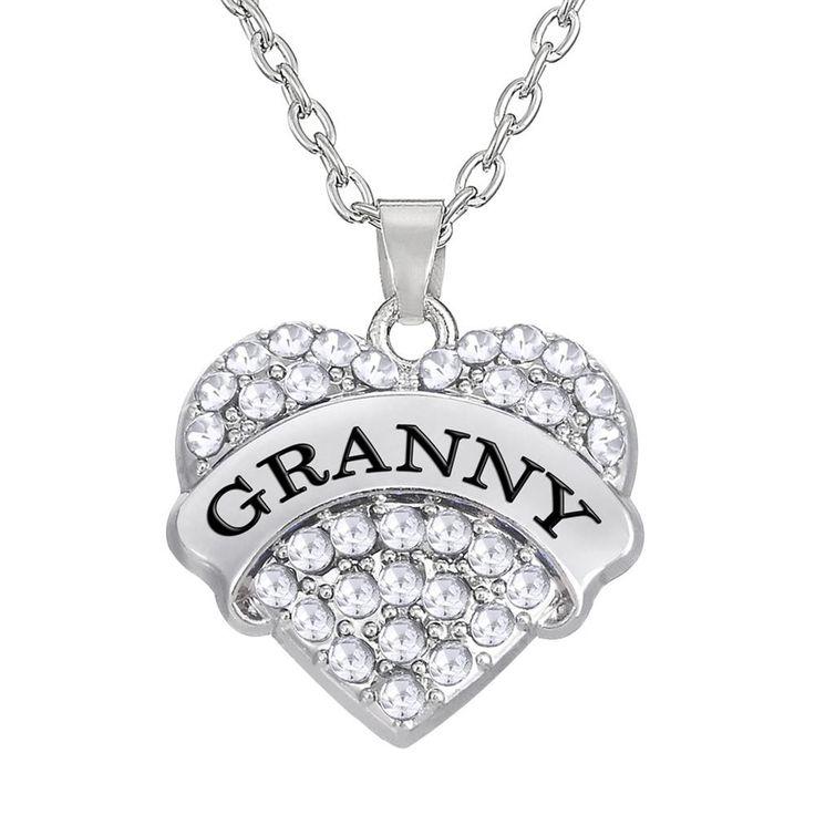 Granny Kingdom Hearts Pendant Necklace