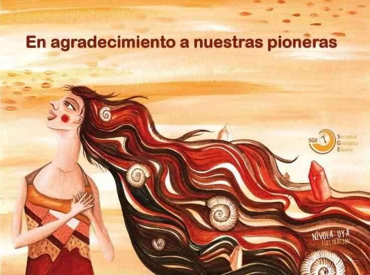 Una de las primeras actividades de la Comisión 'Mujeres y Geología' de la Sociedad Geológica de España (SGE) fue un acto de homenaje a las pioneras en este campo.