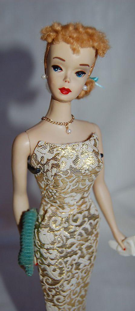 """Vintage - #3 Barbie in """"Golden Girl"""""""