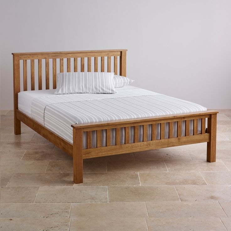 Original Rustic Solid Oak 5ft King-Size Bed | Bedroom Furniture