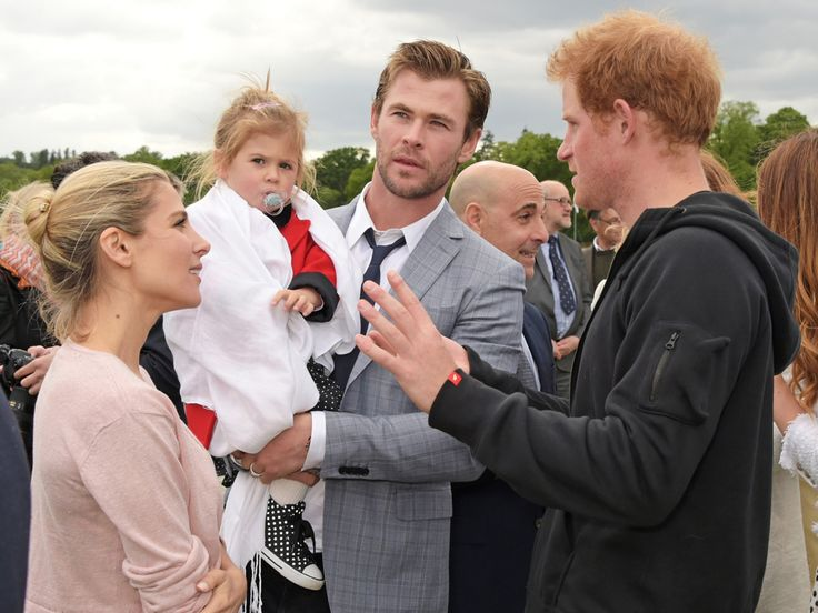 Prince William Gets the Cutest Gift Yet for Princess Charlotte (PHOTO)| The British Royals, The Royals, Chris Hemsworth, Elsa Pataky, Prince Harry, Prince William