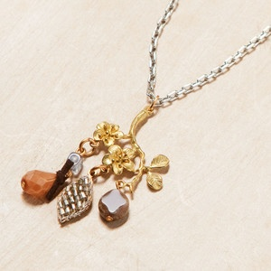 Bloom Charm Necklace, now featured on Fab.Charms Necklaces, Bloom Charms