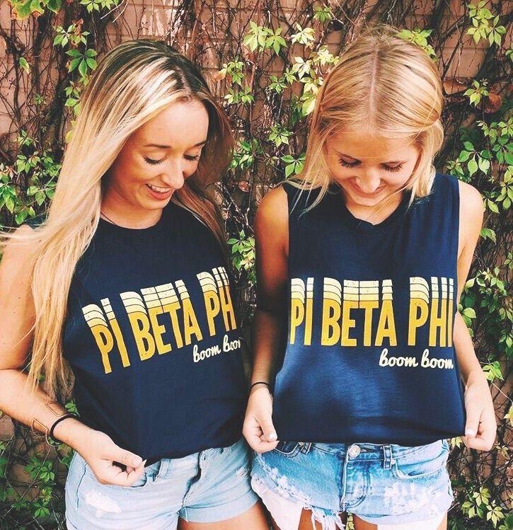 Pi Beta Phi | Phi Phi tanks by Ali & Ariel | @aliandariel