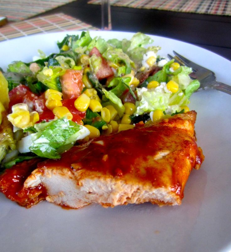 Oven-Baked Boneless BBQ Chicken Breast