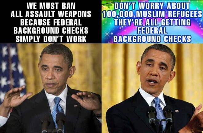 The logic of Obama. Our monster in chief. ~ RADICAL Rational Americans Defending Individual Choice And Liberty