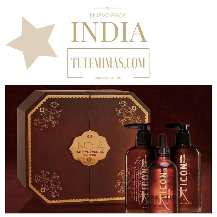 Nuevo Pack #Icon #India : Champú, Acondicionador y Aceite a un precio IRRESISTIBLE!! Revitaliza, nutre, fortalece, desenreda, aporta brillo...Transforma la salud de tu cabello y déjate seducir con los dos mejores aceites del Mundo: #Moringa y #Argán. Consíguelo AHORA en este increíble pack antes de que se agote en tutemimas.com ENVÍO GRATIS Y EN 24H haciendo clic aquí 👉