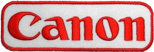 1.3' x 4'Canon DSLR Digital Camera Photographer DIY Embroidered Sew Iron on Patch ** For more information, visit image link.