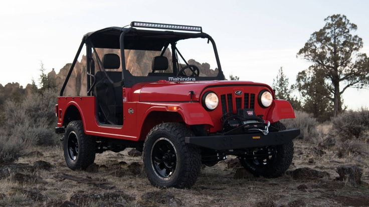 Mahindra Roxor is an Indian Jeep built in Michigan with a diesel engine