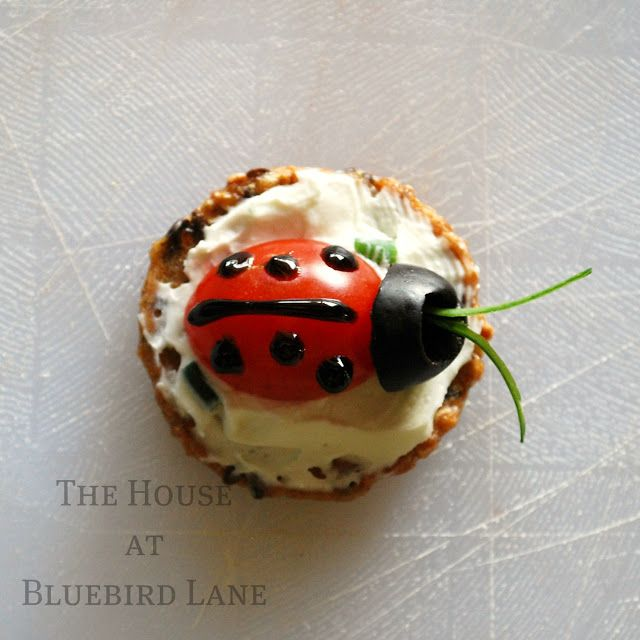 The House at Bluebird Lane: Ladybug Appetizers {Gluten-Free}