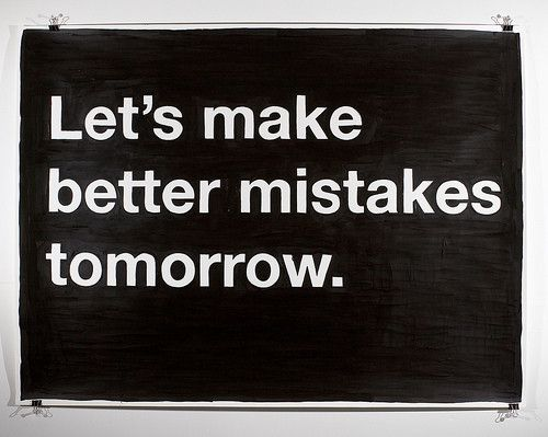 #new #day #better #mistake