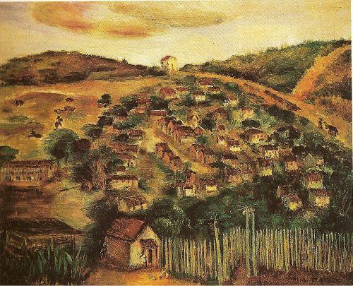 Cambuquira, Anita Malfatti, 1945. Museum of Contemporany Art of University of São Paulo, SP, Brazil.