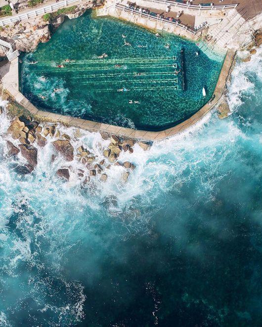 Bronte Ocean Pool In Sydney S Eastern Suburbs Travel Pinterest Pools Sydney And Ocean