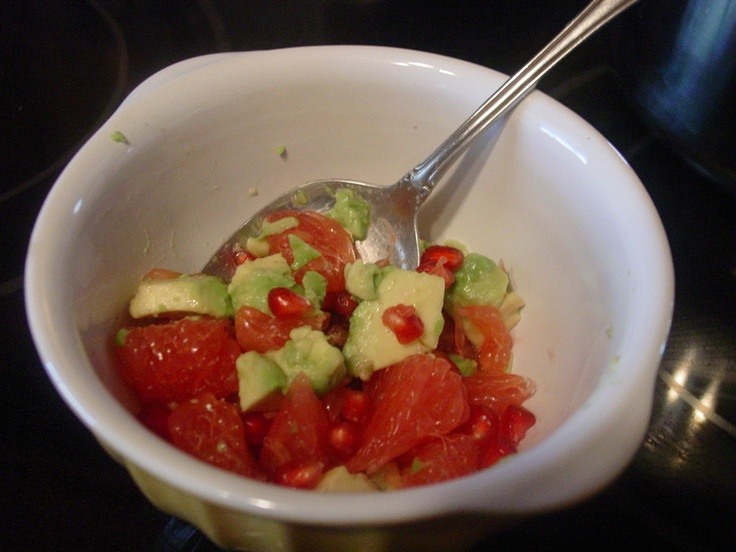 winter pomegranate, grapefruit, and avocado salsa > what is your fav ...
