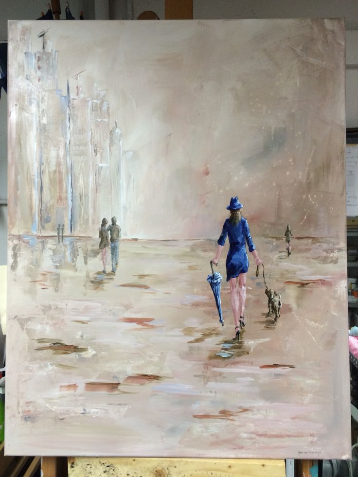 61 best schilderijen images on pinterest - Bruin taupe schilderij ...