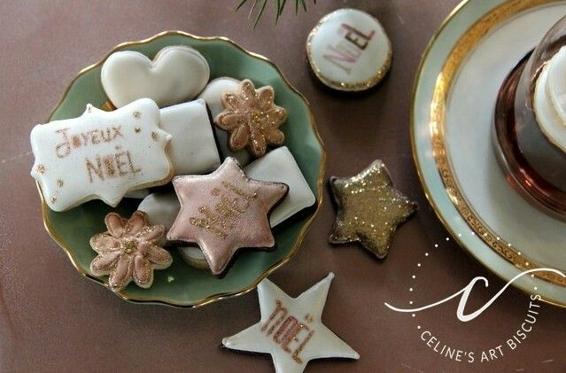 Merry Christmas with Céline's art biscuits