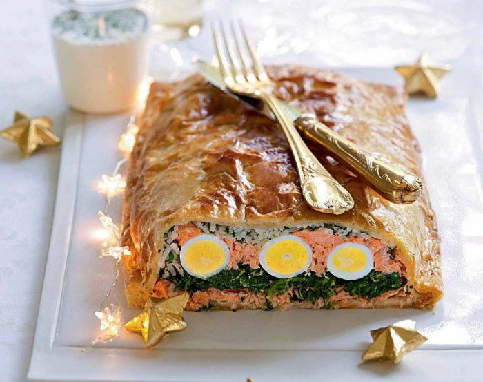 Koulibiac de saumon recette pas chère