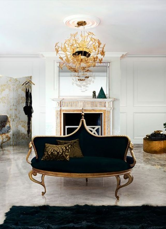 17 best images about black and gold furniture on pinterest, Wohnzimmer dekoo
