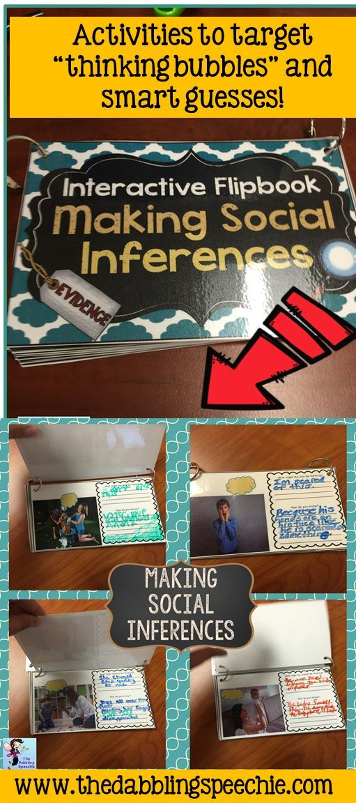 great interactive flipbook to work on social inferencing! Just lamiante and use with a dry erase marker. $
