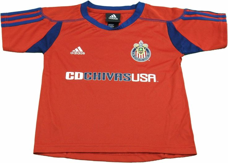 Adidas MLS Club Deportivo Chivas Kids (Size 4) Small Red Jersey