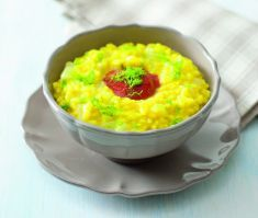 Risotto con finocchi alla curcuma(TUMERIC) e pomodoro - Tutte le ricette dalla A alla Z - Cucina Naturale - Ricette, Menu, Diete