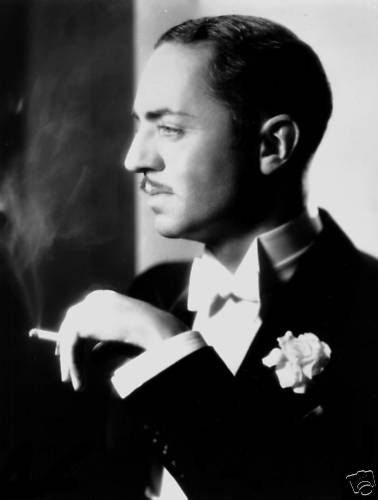 William Powell, of the Thin Man series in the 1930's, is one of my favorite leading men