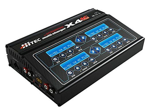 HiTec 44167 X4 AC Plus 4-Port AC/DC Multi-Charger