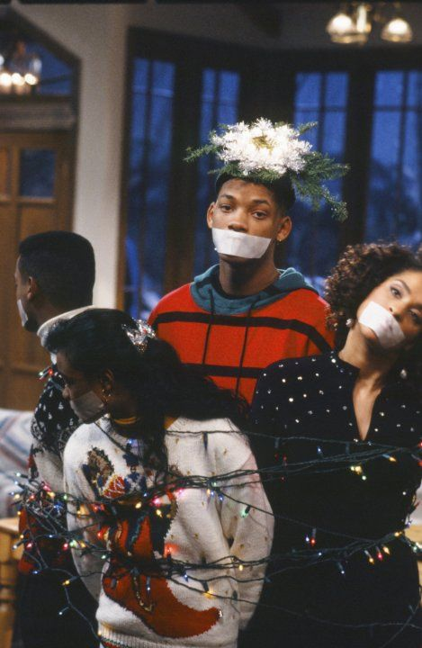 Still of Will Smith, Tatyana Ali, Alfonso Ribeiro and Karyn Parsons in The Fresh Prince of Bel-Air (1990)