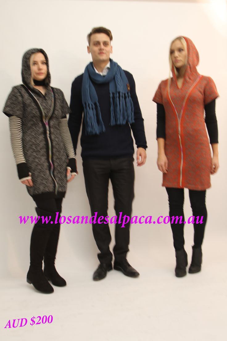 $AUD 200  Alpaca Hoddy Dress, Sold by Alpaca Shop Rundle Mall Adelaide CBD.