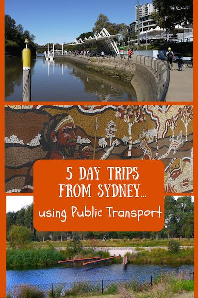 5 Day Trips From Sydney Using Public Transport.