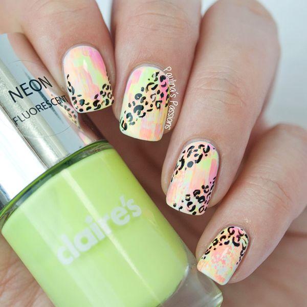 287 best nails 1.2 images on Pinterest | Estampados de leopardo ...