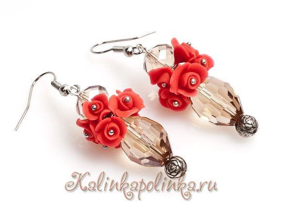 коралловые розы by kalinkapolinka, via Flickr