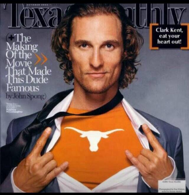 Alright, alright, alright...Matthew McConaughey - #Uvalde TX