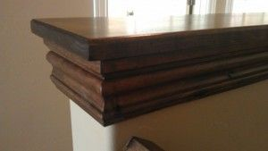 Easy DIY Custom Finishes to Your Handrail or Half Wall - How To Build It