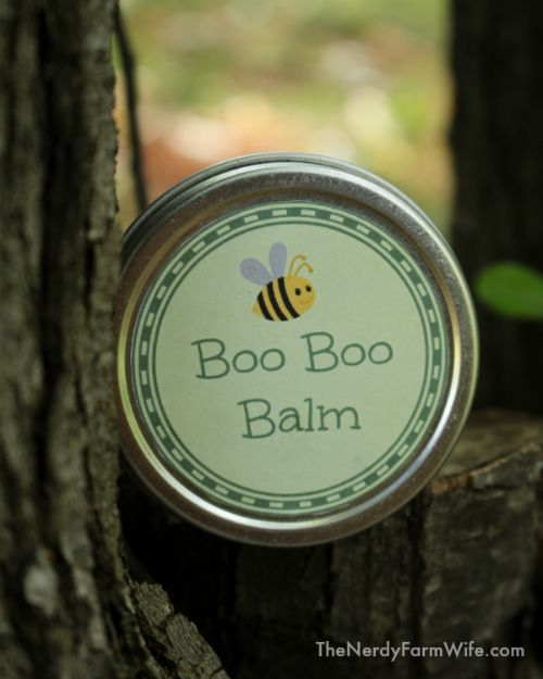 This balm is part of a travel set I put together for my kids. They've spent much of the summer adventuring and camping their way across the country and I wanted them to be prepared for any first aid n