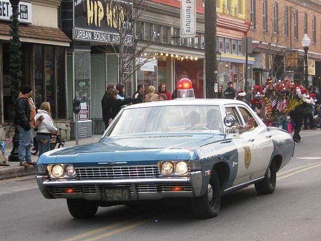 Vintage Baltimore Hampden | Vintage Baltimore Police Car | Flickr - Photo Sharing!