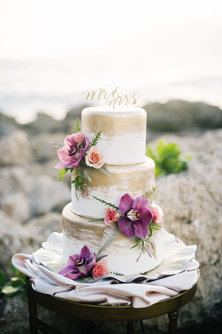 Best 147 Wedding Cakes images on Pinterest | Wedding tips, Beach ...