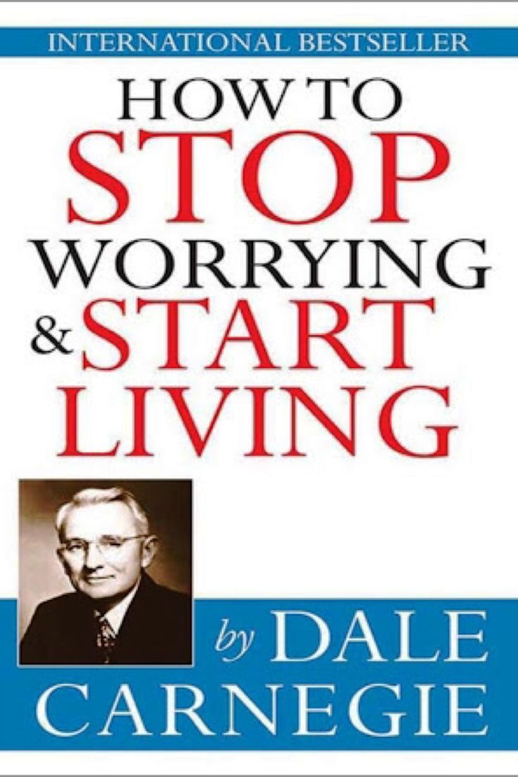 This book will have a profound impact on anybody who reads it. How to stop worrying & start living by Dale Carnegie -bookerina.com