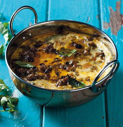 Classic South African bobotie. This is a super flavourful dish and unique to South Africa. It's made with curried mince and has a delicious custard topping. A must try! Love eating this!